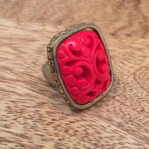 Jewelry - Red statement ring